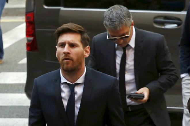 Messi thoát án tù chấp nhận đóng tiền phạt