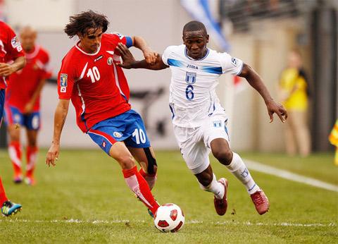 Costa Rica vs Honduras phong độ rớt hẳn