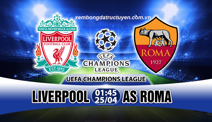 Link sopcast: Liverpool vs AS Roma
