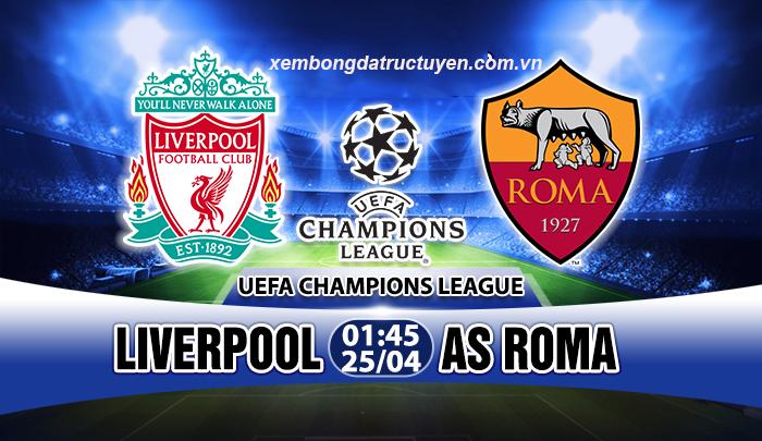 Link sopcast: Liverpool vs AS Roma