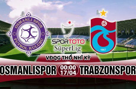 Nhận định Osmanlispor vs Trabzonspor