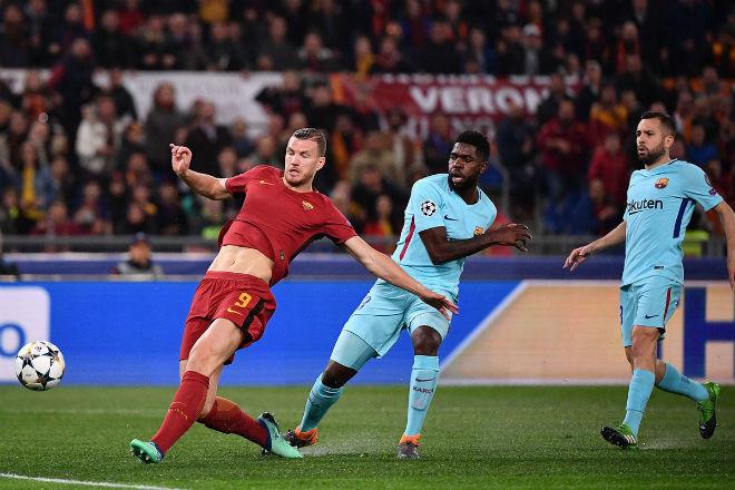 kỳ tích địa chấn AS Roma vs Barcelona