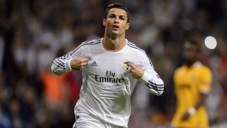 hinh anh Ronaldo trong chien thang