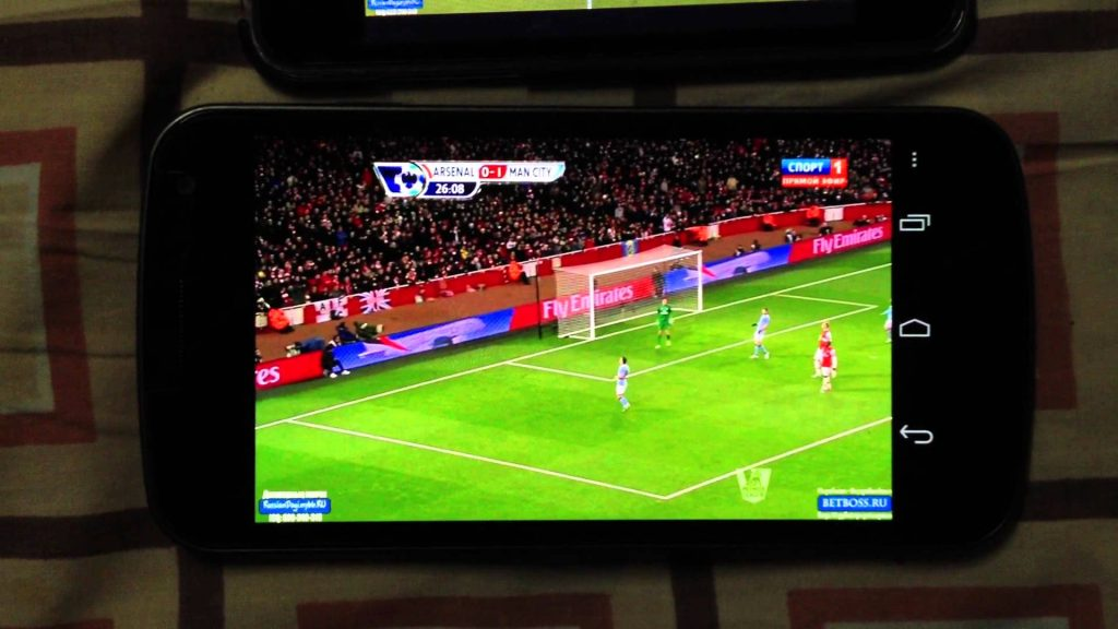 Cách xem bóng đá trên điện thoại bằng sopcast