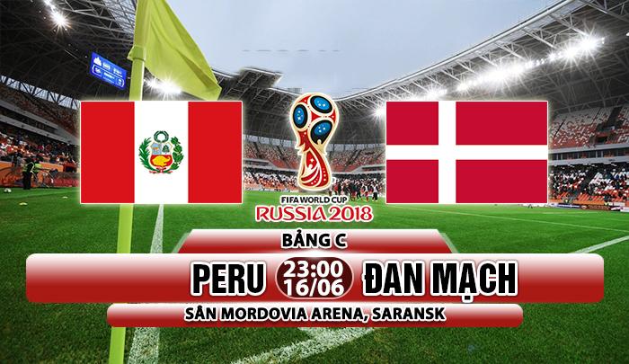 Link sopcast Peru vs Đan Mạch