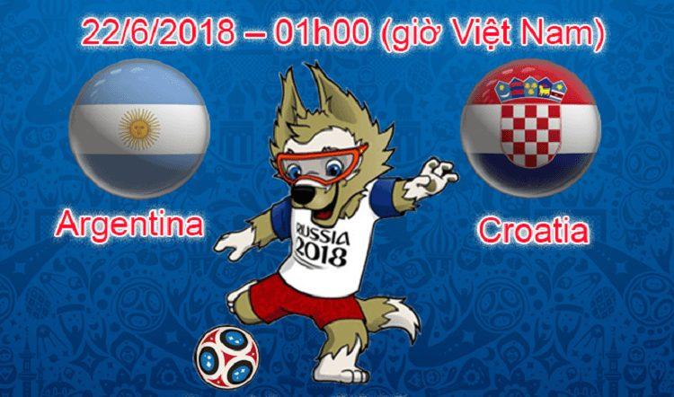 Link sopcast Argentina vs Croatia