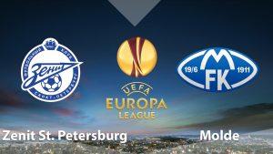 Nhận định trận đấu Zenit vs Molde, 23h00 ngày 23/8: Vòng play-off Europa League
