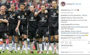 Chia sẻ của Rio Ferdinand trên Instagram cá nhân.