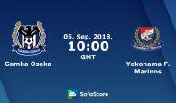 Gamba Osaka vs Yokohama Marinos (17h00 ngày 05/09, Cúp Liên đoàn Nhật Bản)