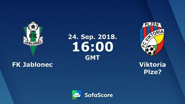Jablonec vs Viktoria Plzen (23h00 ngày 24/9: Giải vô địch CH Czech)