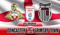 Doncaster vs Grimsby Town (1h30 ngày 10/10: Cúp LeagueTrophy)