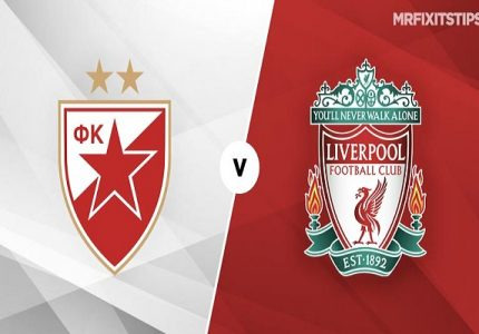 Nhận định Crvena Zvezda vs Liverpool