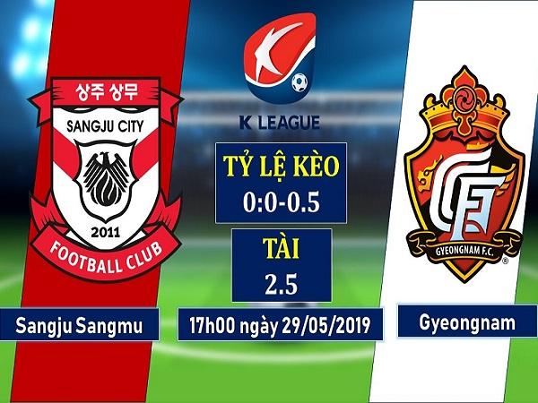 Dự đoán Sangju Sangmu vs Gyeongnam, 17h ngày 29/5