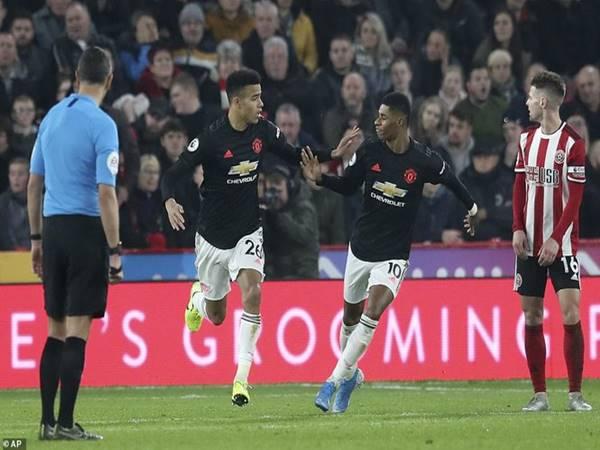 M.U rượt đuổi tỉ số với Sheffield United