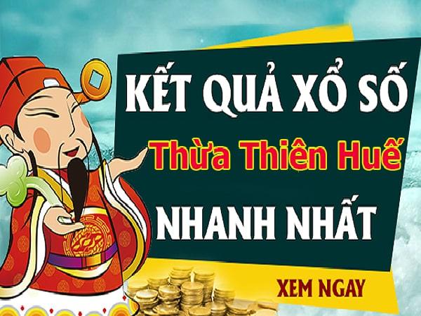 Soi cầu dự đoán XS Thừa Thiên Huế Vip ngày 4/11/2019