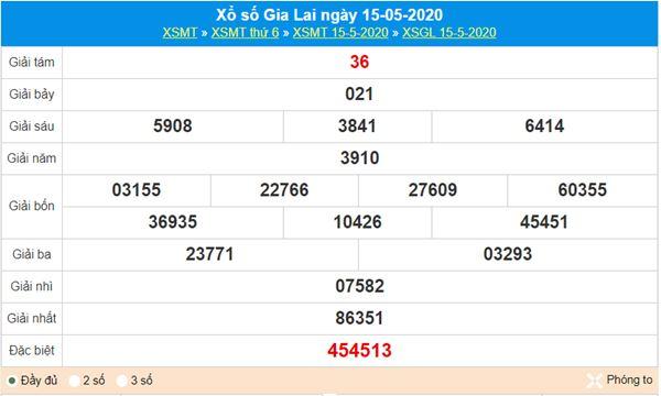 Dự đoán XSGL 22/5/2020 - KQXS Gia Lai thứ 6 hôm nay