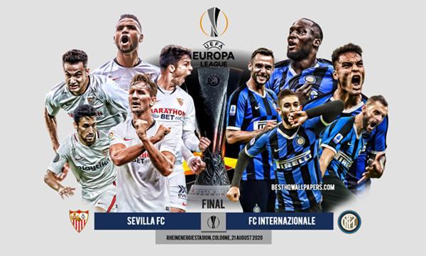 Soi kèo trận đấu Sevilla và Inter Milan 02h00 ngày 22/8/2020