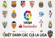 Tìm hiểu ý nghĩa biệt danh của các đội bóng La Liga